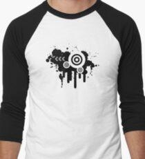 Grunge Vector Men's Baseball ¾ T-Shirt