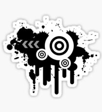 Grunge Vector Sticker