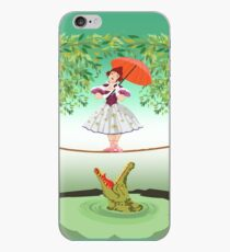 Cute halloween The crocodile girl Deadly circus iPhone Case