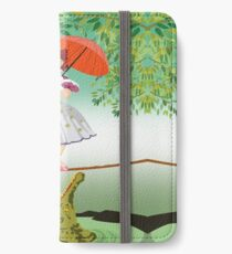 Cute halloween The crocodile girl Deadly circus iPhone Wallet/Case/Skin