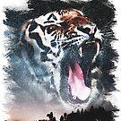 Tiger Sky  by zachsymartsy