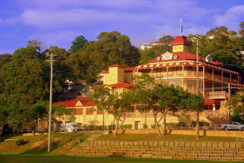 The Historic Como Hotel: Como NSW 4 January 2009 by Kathleen Barker