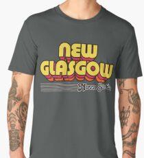 New Glasgow, Nova Scotia | Retro Stripes Men's Premium T-Shirt