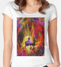 Astral Fantasy Women's Fitted Scoop T-Shirt