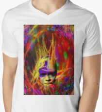 Astral Fantasy Men's V-Neck T-Shirt