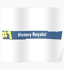 Victory Royale! Poster