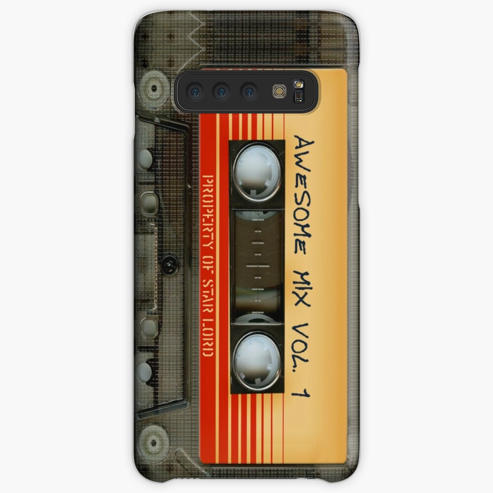 Awesome transparent mix cassette tape volume 1 Case & Skin for Samsung Galaxy