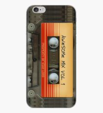 Awesome transparent mix cassette tape volume 1 iPhone Case