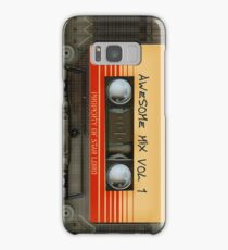 Awesome transparent mix cassette tape volume 1 Samsung Galaxy Case/Skin