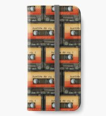 Awesome transparent mix cassette tape volume 1 iPhone Wallet/Case/Skin
