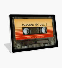 Awesome transparent mix cassette tape volume 1 Laptop Skin