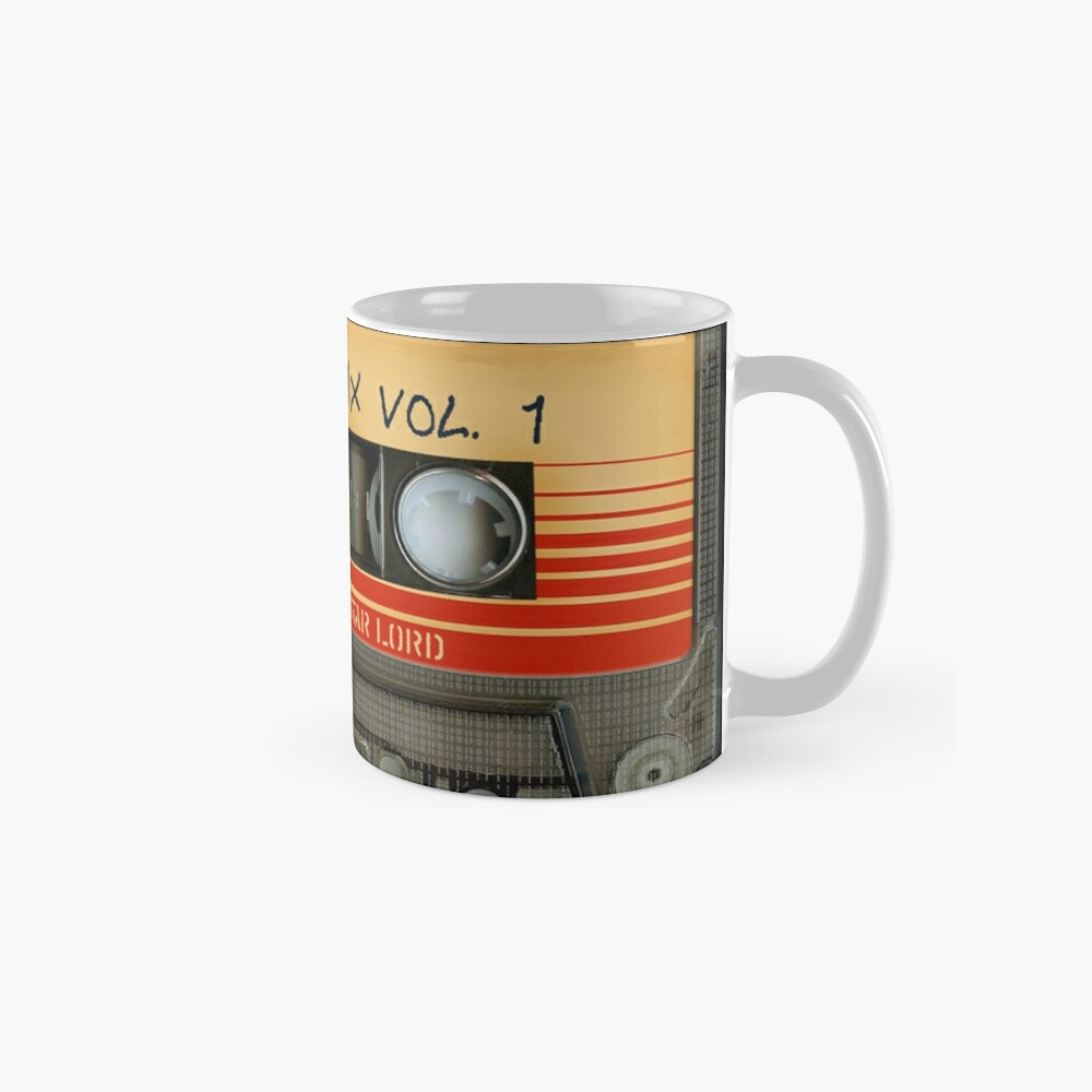 Awesome transparent mix cassette tape volume 1 Mug