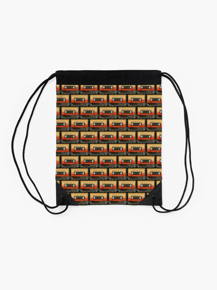 Alternate view of Awesome transparent mix cassette tape volume 1 Drawstring Bag