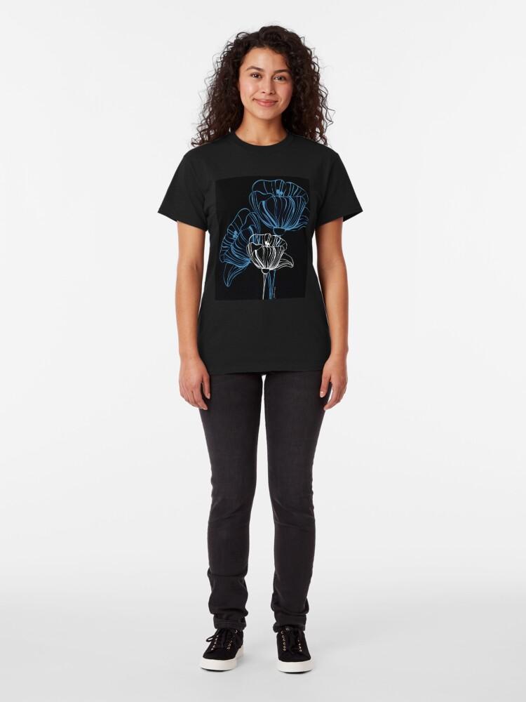 Alternate view of Petal Portrait Classic T-Shirt