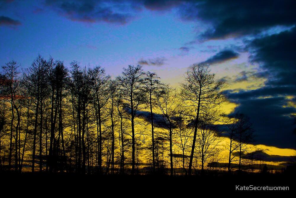 Autumn sky by KateSecretwomen