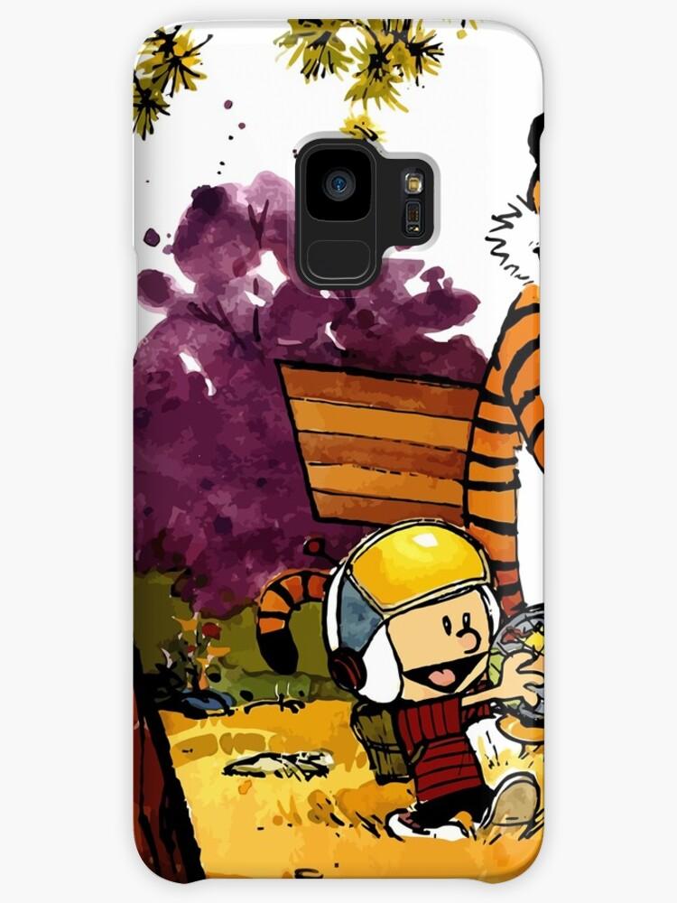 Fundas y vinilos para Samsung Galaxy «Calvin Hobbes, regalo de ...