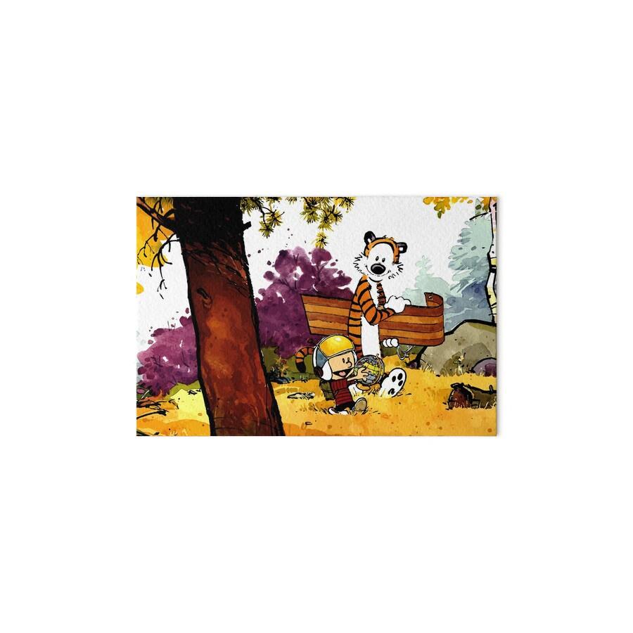 Láminas de exposición «Calvin Hobbes, regalo de guardería, dibujos ...