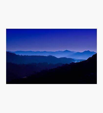 The Nilgiris (Blue Mountains) Photographic Print