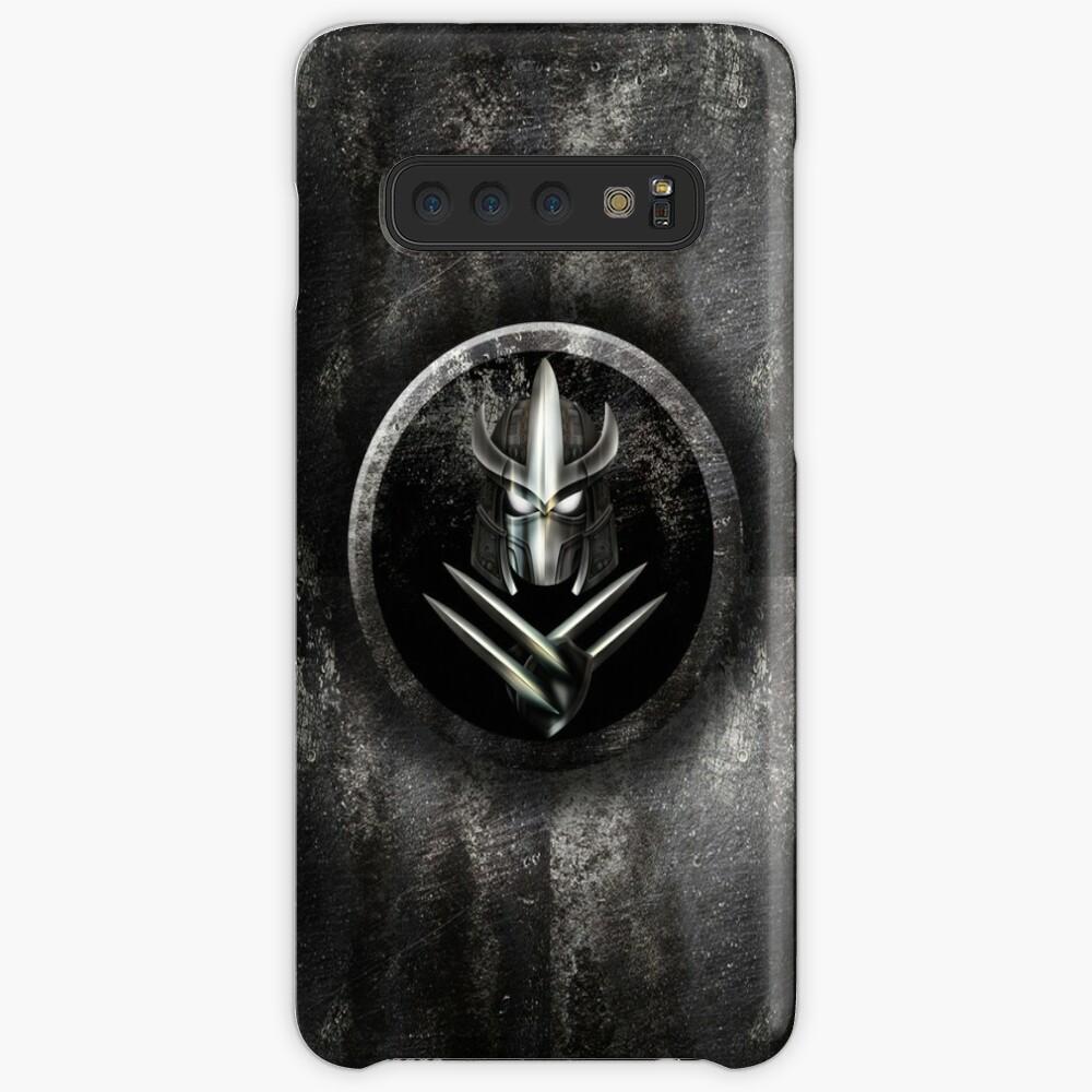 Máscara de samurai de metal rústico Funda y vinilo para Samsung Galaxy