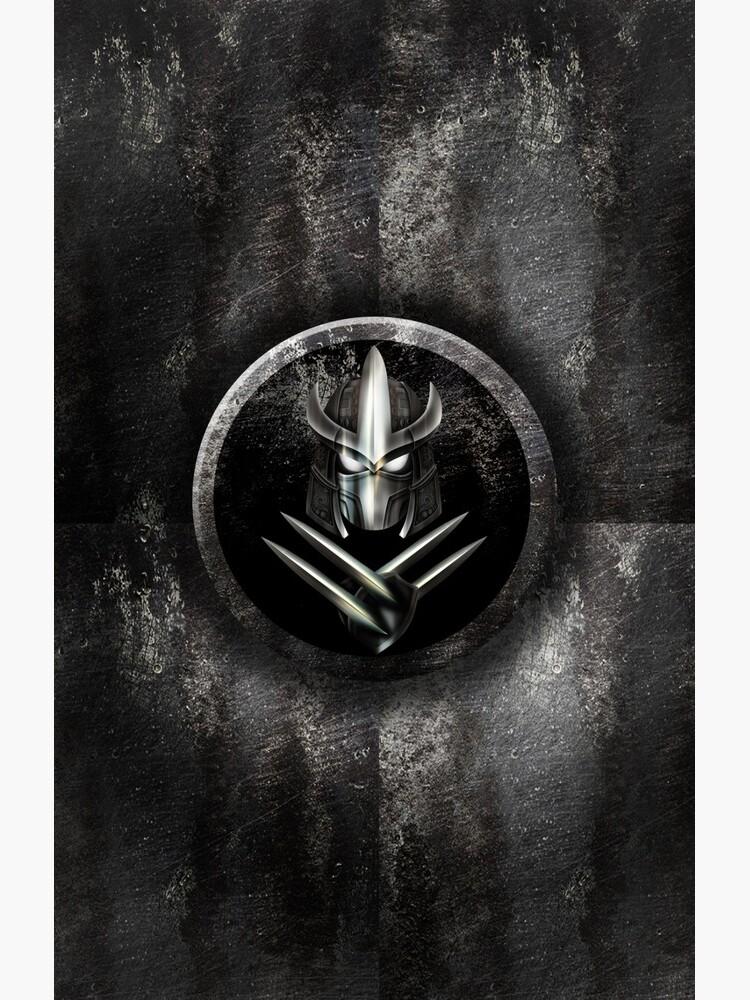 Máscara de samurai de metal rústico de dezigner007