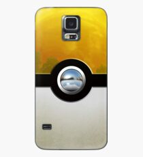 yellow pokeball Case/Skin for Samsung Galaxy