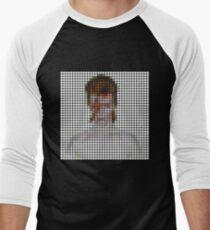 David Bowie: Aladdin Sane Remix Men's Baseball ¾ T-Shirt