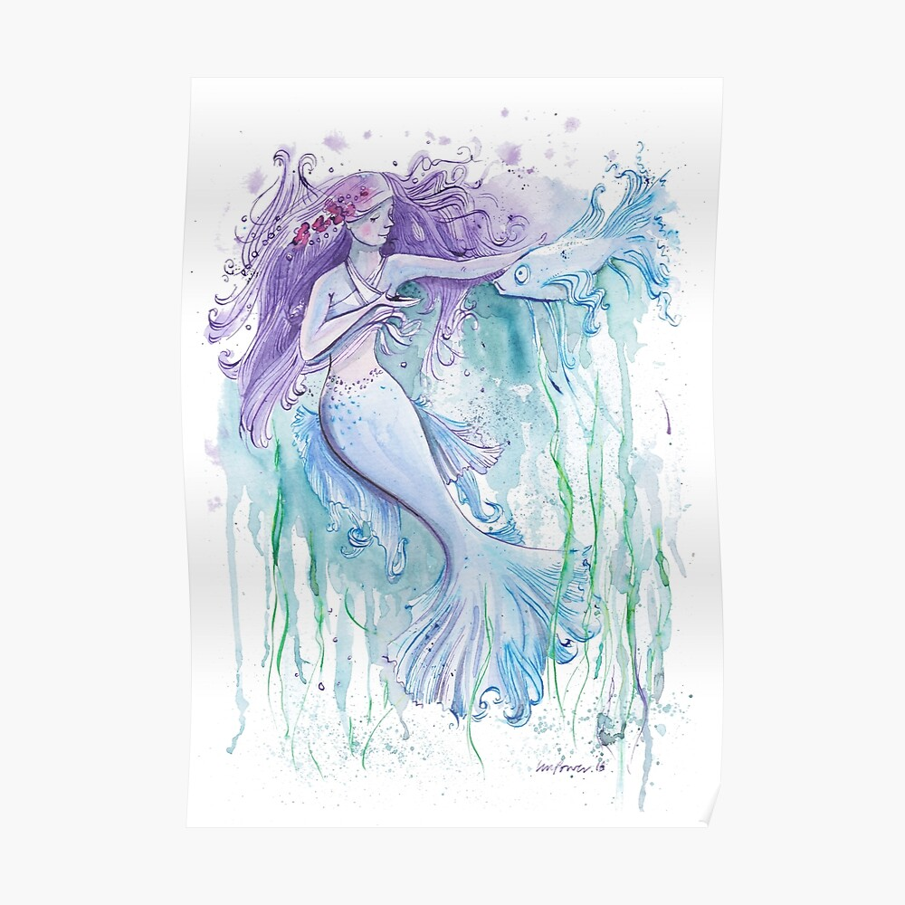 Serenity the Mermaid Poster