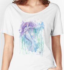 Serenity the Mermaid Women's Relaxed Fit T-Shirt