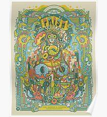 Art Phish the baker's dozen madison square garden Poster