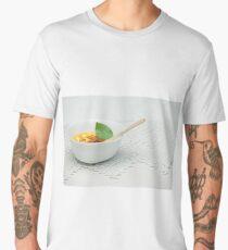 ice-cream with jam and green mint Men's Premium T-Shirt