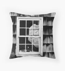 LOOKING THROUGH THE WINDOW Throw Pillow