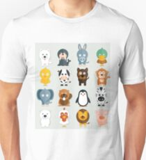 Cutest zoo Animals Unisex T-Shirt