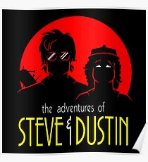 Dustin And Steve Combaination Poster