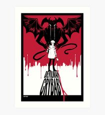Devilman Crybaby Art Print