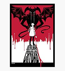 Devilman Crybaby Photographic Print
