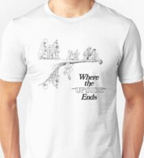 Here The End Story Of Upside Down World Unisex T-Shirt