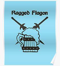 Skyrim - Ragged Flagon Emblem  Poster