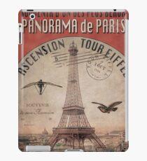 Eiffel Tower Poster iPad Case/Skin