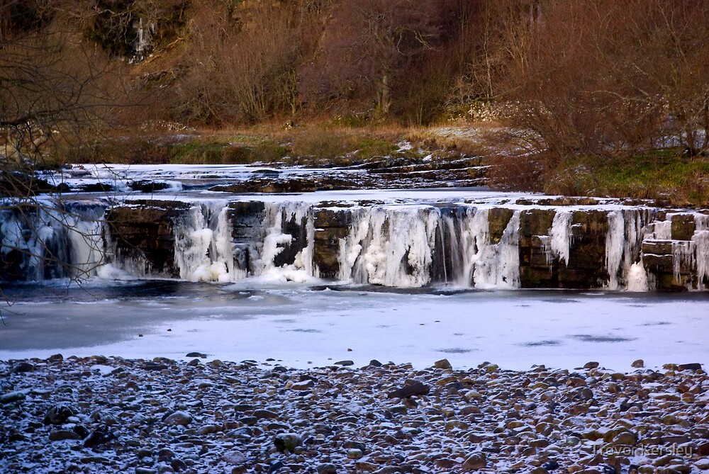Wainwath Force,Keld  Yorkshire Dales by Trevor Kersley