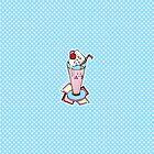 Pastel milkshake by Dewychan
