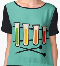 The Sounds of Science Chiffon Top