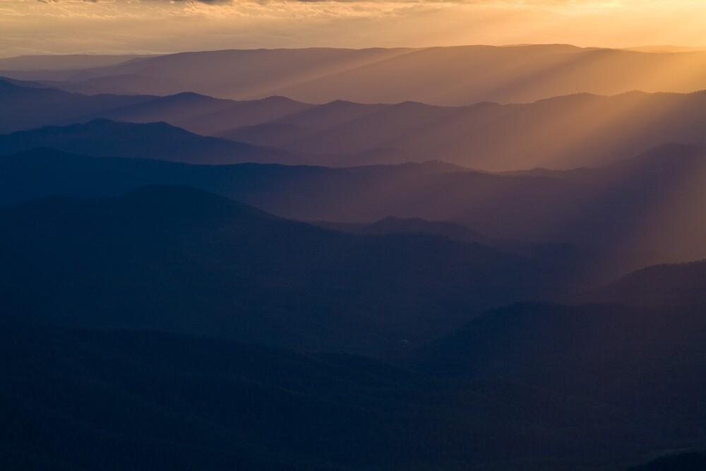 Howqua Sunset by Chris Putnam