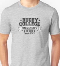 RUGBY COLLEGE Unisex T-Shirt