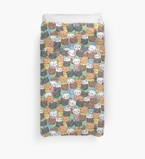 Cats in Onesies - Colored Duvet Cover