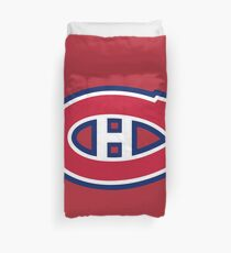 montreal canadiens Duvet Cover