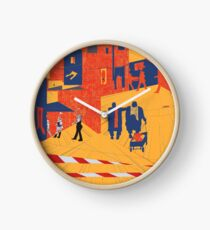 city limits Clock