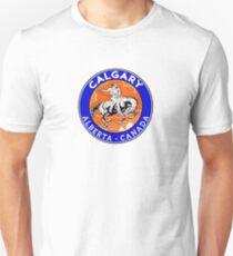 Calgary Alberta Canada Cowboy Horse Stampede Rodeo Unisex T-Shirt