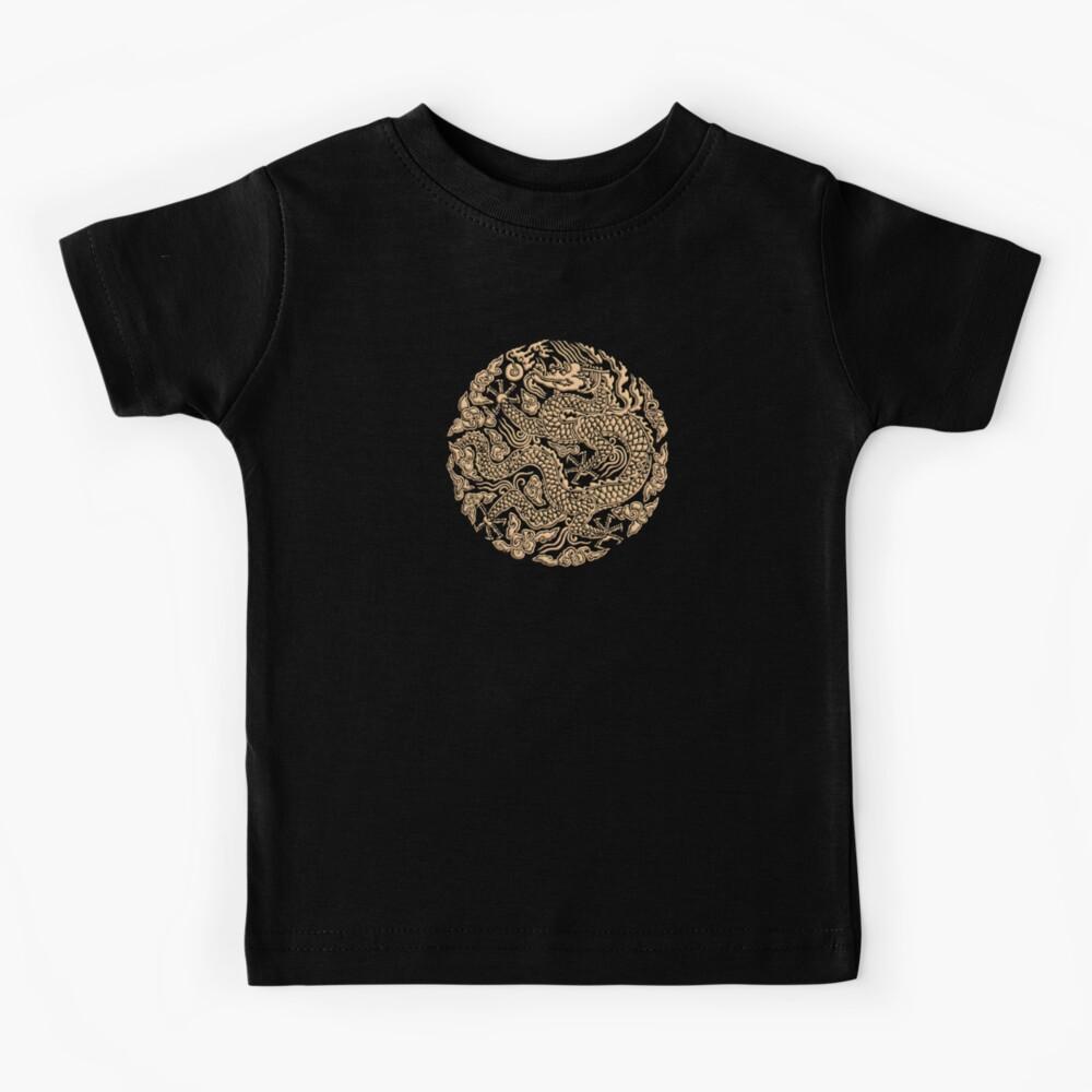 Golddrachen shenlong Kinder T-Shirt