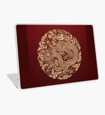Gold Dragon shenlong Laptop Skin