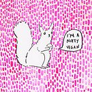 I'm a nutty vegan! by qitiji